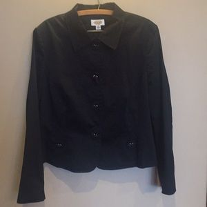 Talbots Navy blue jacket sz 20